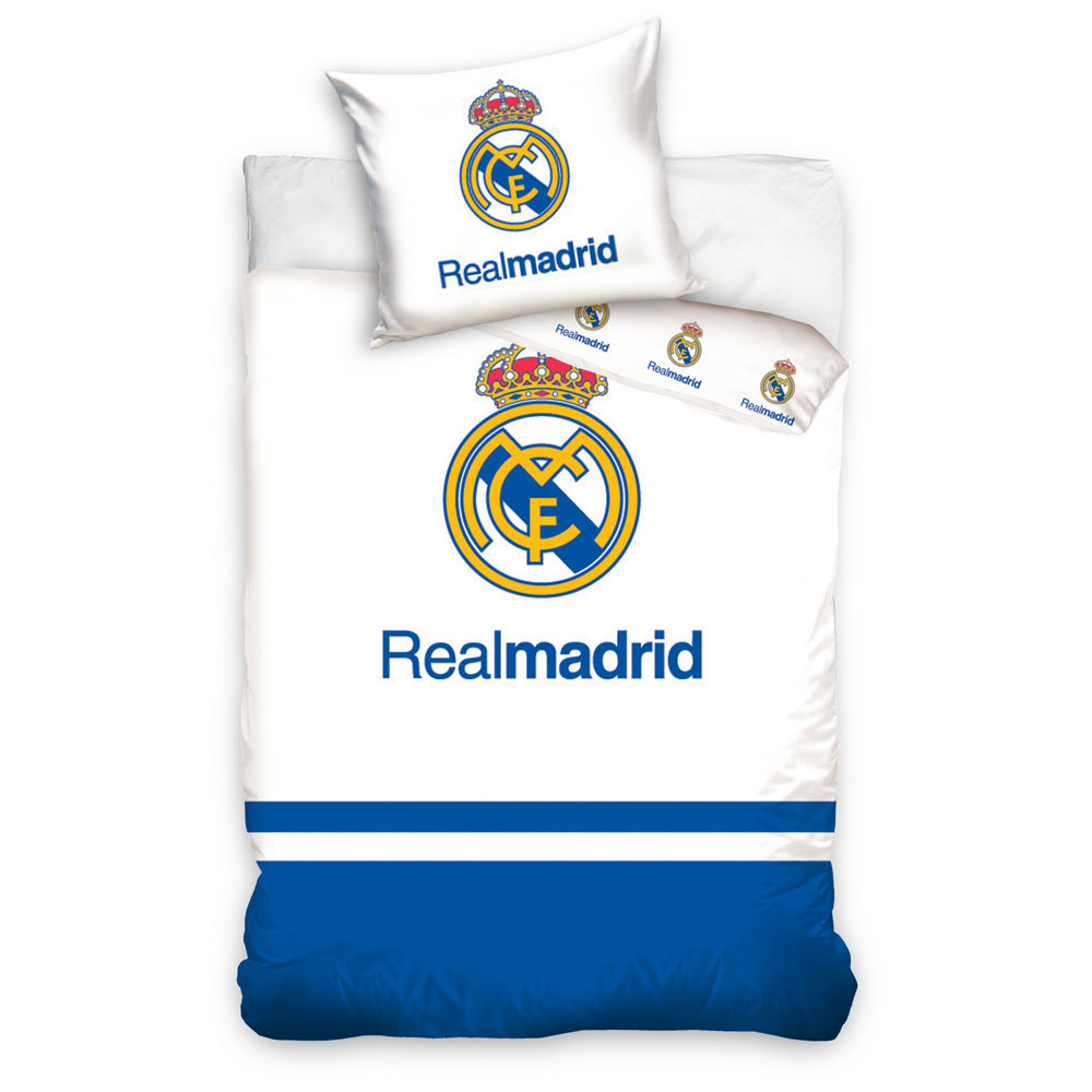 Bettbezug Real Madrid Logo