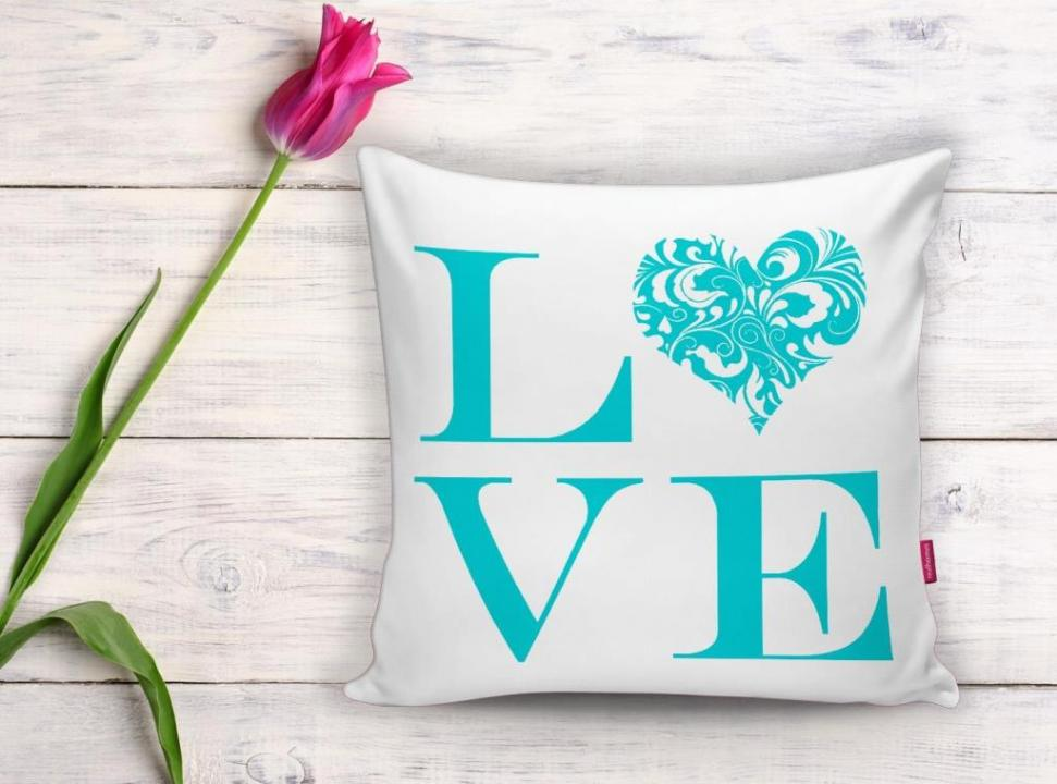 Love Blue Home Kissen yk529 3